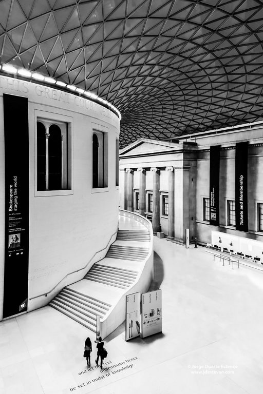 Founded in 1753, the British museum, in London, England, was the first national public museum in the world. Nearly 6 million people visit it every year