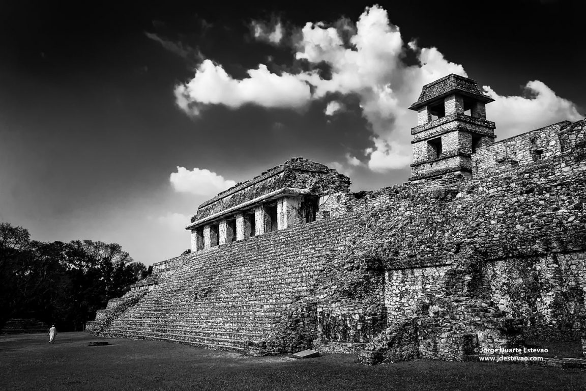 The ruins of Palenque in Chiapas, Mexico, a Unesco World Heritage Site that dates back to 100 BC