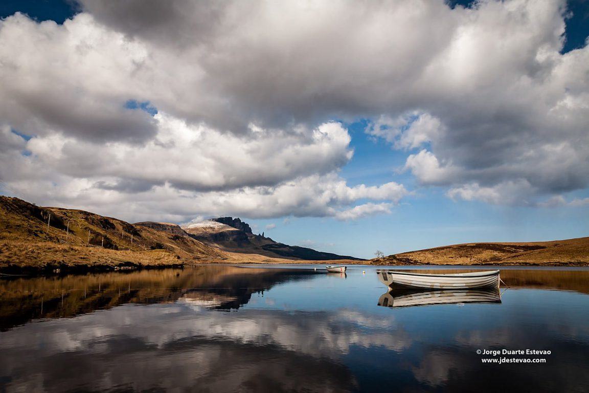 The Old Man of Storr, in the Isle of Skye, Scotland. The rock feature has been voted as a runner up in Landmark of the Year in the BBC Countryfile Magazine Awards 2015/16
