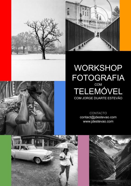 Workshop de fotografia com telemóvel com Jorge Duarte Estevão em Lisboa e Faro