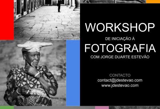Workshop de iniciação à fotografia