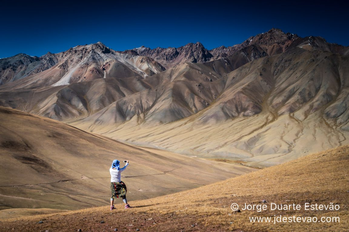 Mountains of the Silk Road in Kyrgyzstan, Central Asia