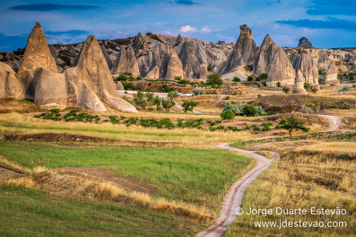 The awkward region of Cappadocia, in Turkey