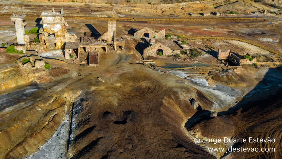 Achada do Gamo was the center of metallurgical activities on the ores mined from the São Domingos Mine